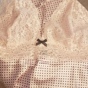 Victoria's Secret satin chemise.
